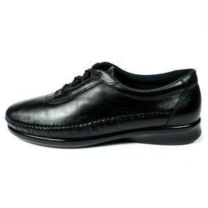 SAS Free Time Tripad Comfort Leather Diabetic Shoe